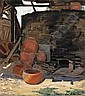Carl Schmidt (American, 1885-1969) The Old Kiln, Prado, California (No.173) 20 x 18in, Carl Schmidt, Click for value