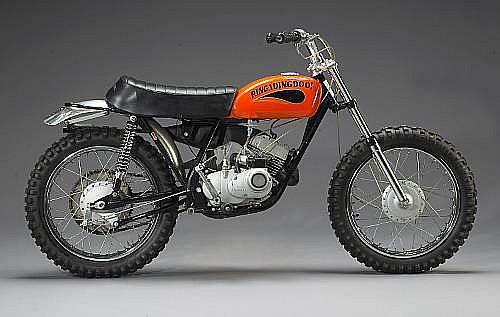 The ex-Steve McQueen, Von Dutch,1970 Kawasaki 100cc G31M Centurian 'Ringadingdoo!'