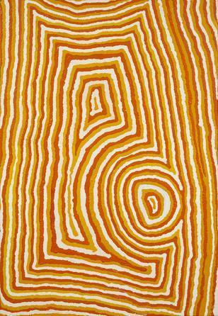 Ningie Nangala (ca. 1934-)-Mungai-, 2004