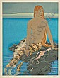 Paul Jacoulet (1896-1960) One modern print, Paul Jacoulet, Click for value