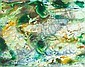Joseph Raffael (American, born 1933) Untitled (Green Waters) 19 3/4 x 25 1/4in, Joseph Raffael, Click for value