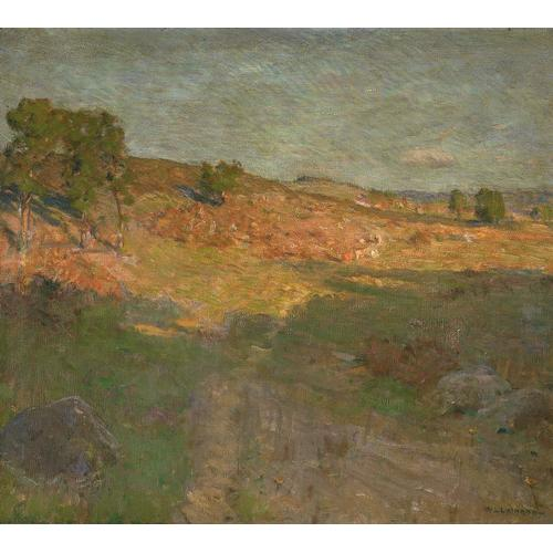 Lathrop Landscape Oil Painting