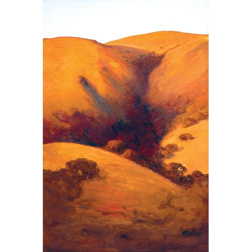 Giuseppe Leone Cadenasso Leona Heights, Oakland oil painting