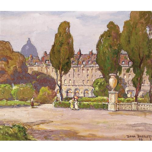 Dana Bartlett Gardens Paris Oil