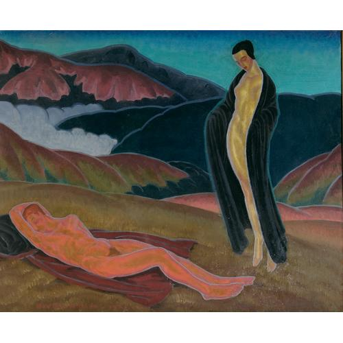 Raymond Boynton The Sleeping Endymion Oil