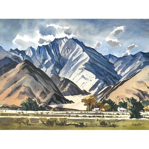 Zornes Mt. San Jacinto Watercolor