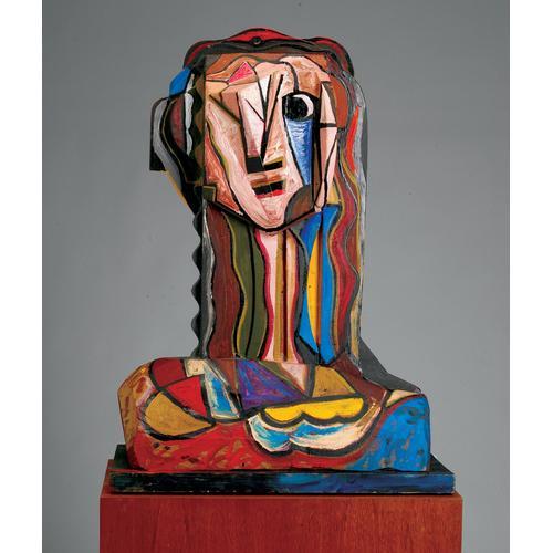 Italo Scanga, Wood and paint