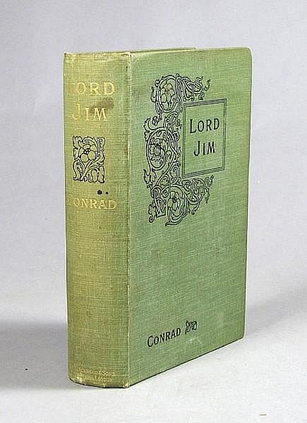 CONRAD, JOSEPH. 1857-1924. Lord Jim. Edinburgh & London: William Blackwood and Sons, 1900.