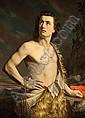 Michele Gordigiani (Italian, 1830-1909) David 42 1/4 x 31 1/4in (107 x 79.4cm), Michele Gordigiani, Click for value