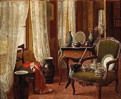 Mary Hayllar (British, ?-1885) Wedding presents 7 3/4 x 9 1/2in (19.7 x 24.2cm)