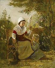 Alfred Fowler Patten (British, 1826-died circa 1888) A portrait