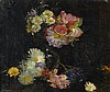 Benjamin West Clinedinst  (American, 1859-1931)  A floral still l, Benjamin West Clinedinst, Click for value
