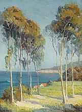 Kathryn Woodman Leighton  (American, 1876-1952)  Laguna Bay from