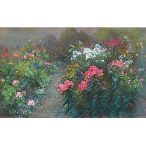 Bridges Blooming Garden Watercolor