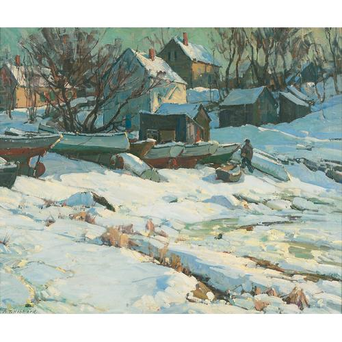 Hibbard Winter Boats  Town Oil