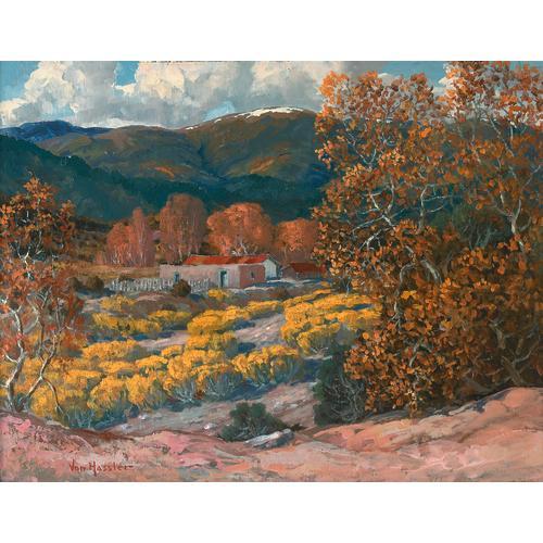 von Hassler Autumn New Mexico Oil
