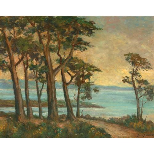 Lee Monterey Oil Painting