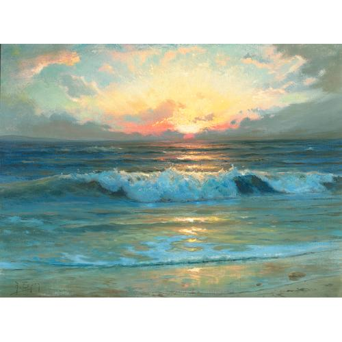 Espoy Pacific Breakers Oil Canvas