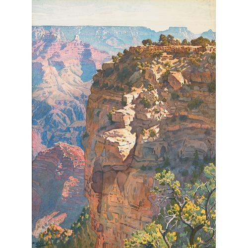 Widforss Grand Canyon Watercolor
