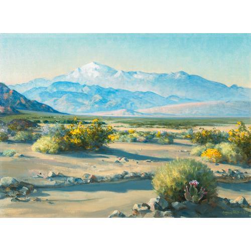 Pelton Desert Landscape Painting