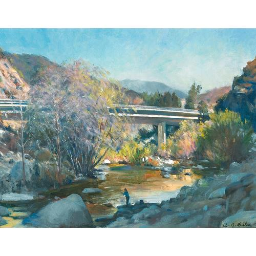 Situ San Gabriel Canyon Bridge Oil