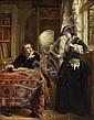 John Callcott Horsley, RA (British, 1817-1903) The poet's theme 54 3/4 x 43in (139 x 109.2cm), John Callcott Horsley, Click for value