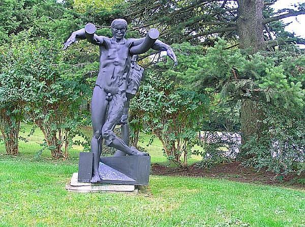 Jean-Robert Ipoustéguy (French, 1920-2006) Val de Grâce, 1977 86 5/8 x 57 1/8 x 63in (220 x 145 x 160cm)