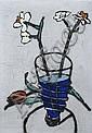 Richard Spare (British, 1951); Carnation; Fuchsia Frond; Gerbena; Narcissi; (4), Richard  Spare, Click for value