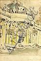 Max Pollak (Czech/Austrian, 1886-1970); A Group of Five European Architectural Prints; (5), Max Pollak, Click for value