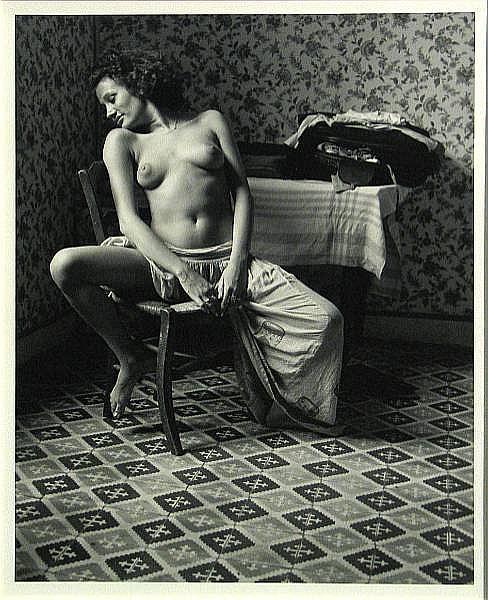 Jack Welpott (American, born 1923); Sabine, Arles;