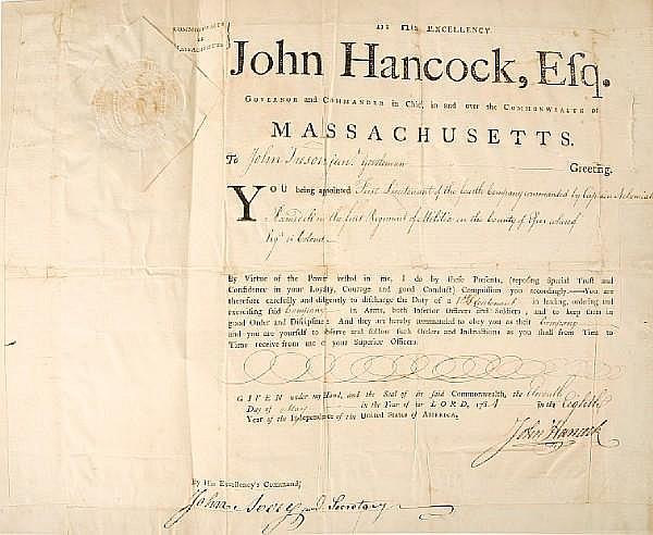 HANCOCK, JOHN.