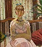 Edward Le Bas (British, 1904-1966) Girl in Pink, Edward Le Bas, Click for value