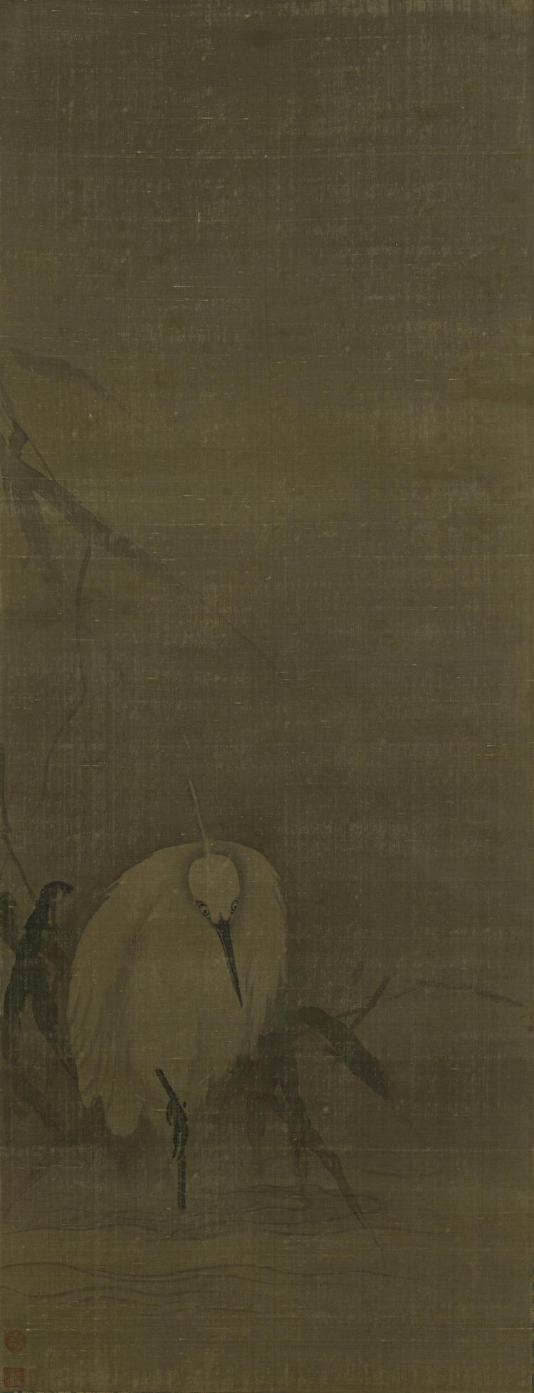 Attributed to Liang Kai (active c 1172-1204) Chinese Art from the Scholar's Studio