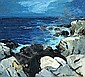 Thomas Lorraine Hunt (American, 1882-1938) Incoming tide 36 x 40in, Thomas Lorraine Hunt, Click for value