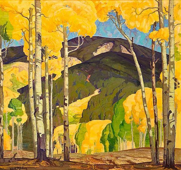 Carl Redin (1892-1944) In late September 32 x 34in