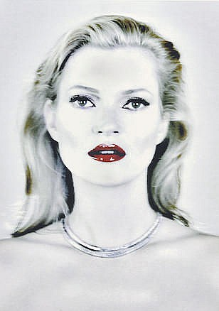 CHRIS LEVINE (born 1972) Kate's Light (Kate Moss)