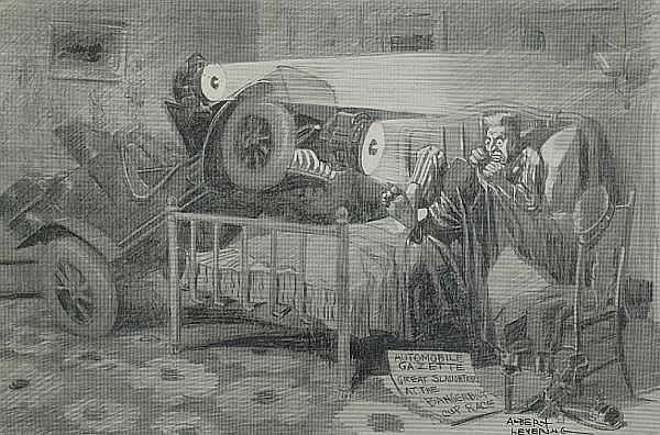 Albert Levering (1869-1929); 'The Nighmare's Successor',