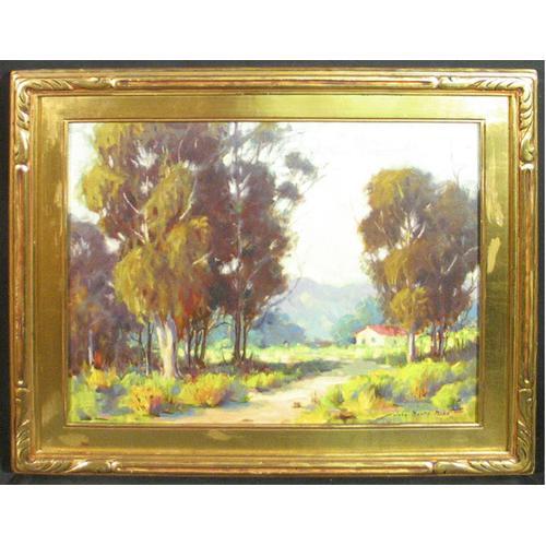 "John Martin Hiss, ""California Landscape"", o/c"