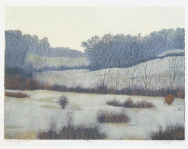 Gordon Mortensen (American, born 1938); Shades of Winter;