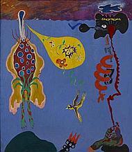 Norman Stiegelmeyer (1937-1984) Teacher + Disciple, 1964 45 x 39 1/4in. (114.3 x 99.7cm)