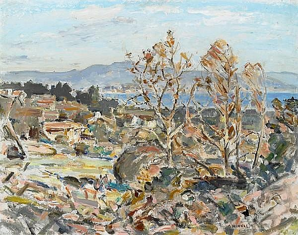 Clarence Hinkle (American, 1880-1960) Rincon vista 24 x 30in