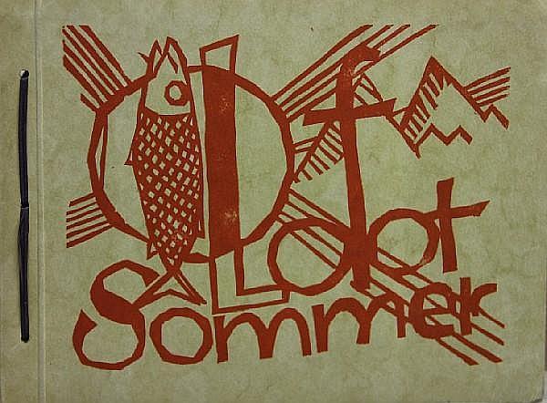 Willy Menz (German, 1890-1969); Lofot Sommer, Reiseskizze mit zehn Holzchnitten;