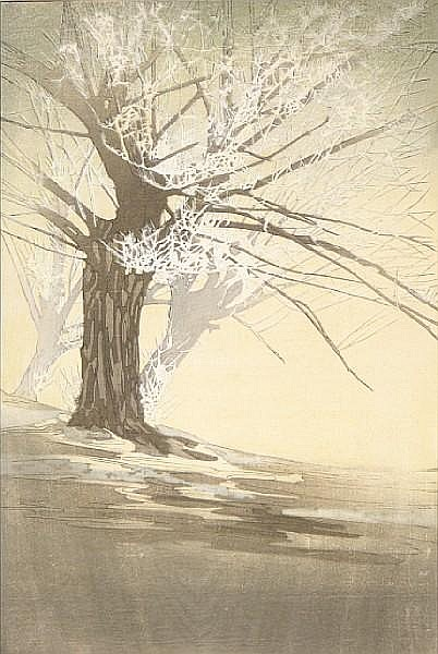 Bertha Boynton Lum (American, 1869-1954); Frost;