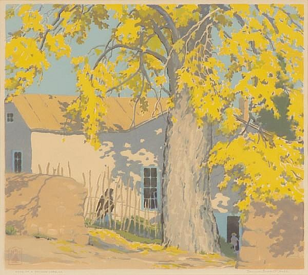 Norma Bassett Hall (American, 1890-1957); A Group of 4 Prints; (4)