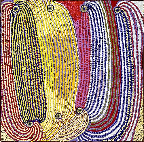 Tommy Mitchell (b. 1943). The Boy Who Stole an Emu Heart, 2006