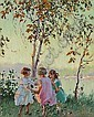 <BR>Edward Dufner (American, 1872-1957) , Edward Dufner, Click for value