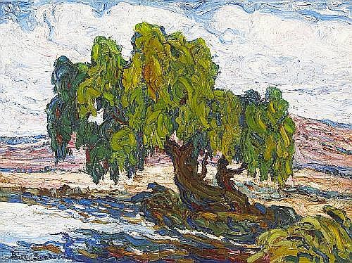 <BR>(n/a) Birger Sandzen (American, 1871-1954)