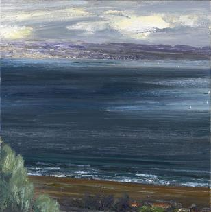 Larry Cohen-(born 1952)-View from Malibu Hills-, -circa- 1992-94 18 x 18in. (45.7 x 45.7cm)