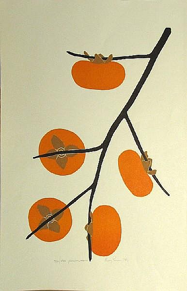 Henry Evans (American, 1918-1990); A Group of Five Botanical Prints; (5)