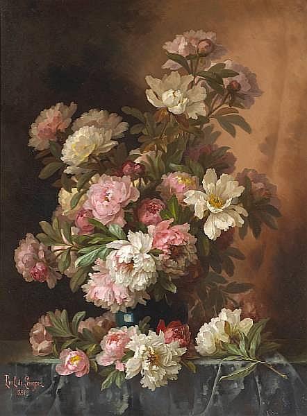 Paul de Longpre (French, 1855-1911)